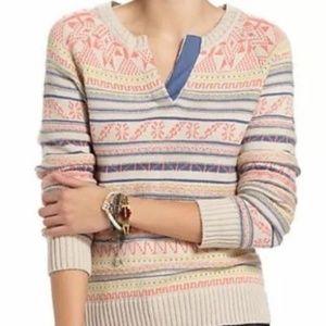 Fiets Voor 2 Anthropologie Multicolored Sweater